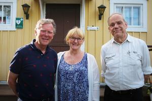 Lars Sunemo, Linda Seitola Gunnarson och Per Mattsson utgör en del i projektgruppen.