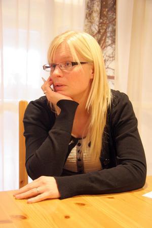 Anna Bäcklund är Hälsinglands högskolemäklare och har till uppgift att rekrytera studenter att göra sina examensarbeten i länet.