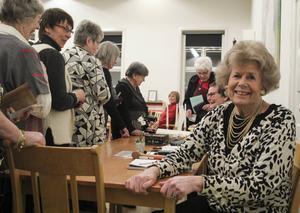 Ulla-Britt Härdin har en lång historia ihop med Husmodersföreningen. De föddes till och med samma år, 1934.