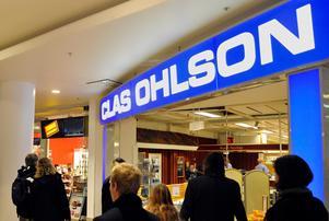 Clas Ohlson omsatte 688 miljoner kronor under oktober.Foto. Hasse Holmberg / SCANPIX