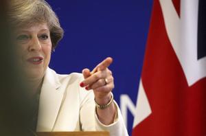 börjar kännas alltmer orealistiskt. Det är kanske inte så märkligt när premiärminister Theresa May dras med stora problem inom sina egna led, skriver debattören.