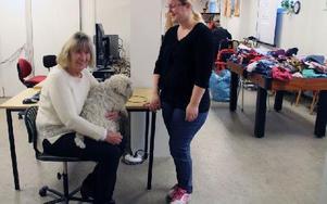 Anna Norström och Åsa Dahlberg i IFAs lokaler. Foto: Eva Högkvist