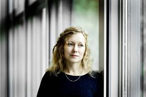 Anna Livion Ingvarsson när hon tillträdde som Konstcentrumchef 2009.