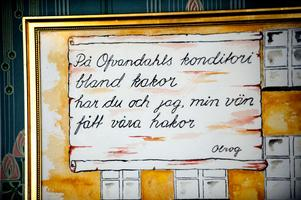 Många äro de visdiktare och skalder som skrivit lyriskt om Ofvandahls konditori.