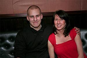 Oliwer Martin och Eva.