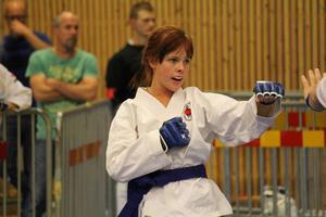 Nora Ängebrant från Örnsköldsviks Kampsportsförening lyckades inte kvala in till SM. Men chansen är ändå stor att Nora får vara med i SM.