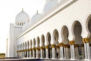 Stora Moskén i Abu Dhabi - en av världens största moskéer.