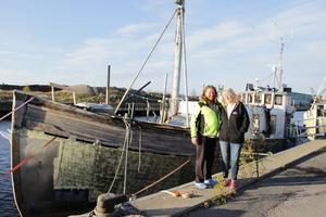 Christer och Ingrid bor på en gammal fiskebåt i Gävle.