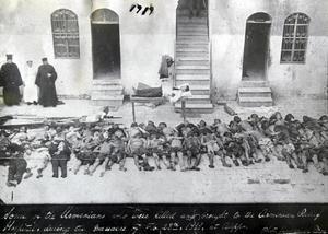 Döda armenier bär tyst vittnesbörd om massakern av kristna som startade 1915.