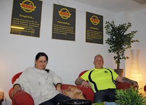 Anetta Hellgren och Jari Nordlund på KRIS i Gävle är kritiska till sajten Lexbase.