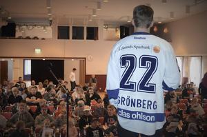 Martin Grönberg berättade om sin karriär och den senaste framgången med Leksand.