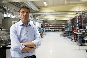 Moraknivs vd Henk Noback ser ljust på framtiden för företaget.