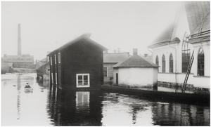 Vid Nybron, Johanneskyrkan t.h.