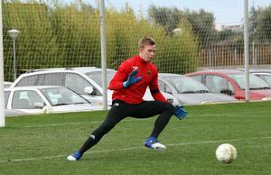 Andreas Andersson vilades under matchen mot MFF och var ordentligt på tårna under söndagen.