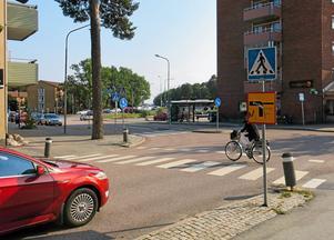 Skallbergsgatan vid korsningen med Emausgatan