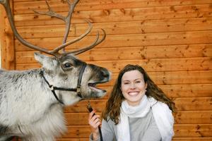 Ulrika Andreasson tillsammans med Rudolf som arbetar inom film, reklam och event.