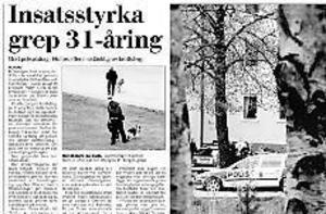 Ur Gefle Dagblad torsdagen den 22 maj.