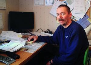Peter Persson, Nyhem, är företagare i städbranschen som startade sin firma när han var arbetslös för 15 år sedan. I dag har han sju anställda och blev 2008 utnämnd till årets företagare i Bräcke kommun.Foto: Ingvar Ericsson