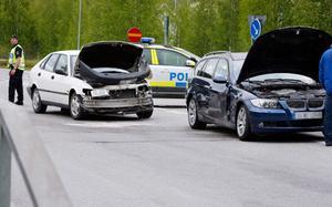 Ytterligare en olycka inträffade på Vallaleden.