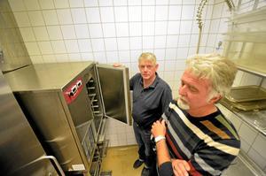 Arrendator. Kenneth Boberg som arrenderar Kumla hotell och Stephan Forsström från företaget Ipinium.