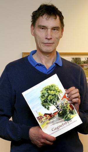 Herman Lindberg är en av idelisterna bakom boken om Gagnefsbyn.