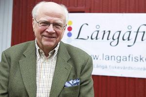 Helge Jonsson, Långåfiskets nestor.