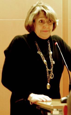Moderaternas gruppledare Lisa Sallin