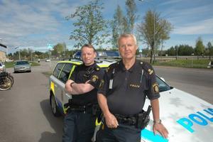 STORT OMRÅDE. Poliserna i Älvkarleby-Tierp närpolisområde har två och en halv kommun att bevaka. Nu förtiden utgår alla poliser från Tierp.