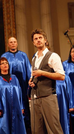 Jakob Stadell är en av Sveriges mest uppskattade musikalartister och han imponerade med sin starka röst i rollen som Kristus.