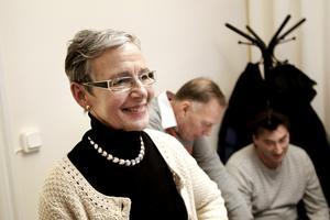Annika Folcke från Skade friidrott vill men vågar knappt tro på att Gävle ska ha en riktig inomhushall för friidrott inom tre-fyra år.