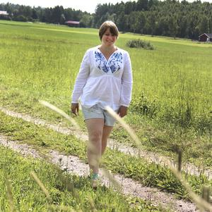 Från att ha prioriterat studierna i många år tänker Emma Källgren satsa lite mer på sig själv.