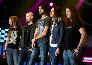 Åt hårdrockarna i bandet Pain of Salvation har Fredrik fixat en känsla av ökenljus.