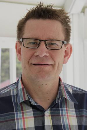 Torleif Bakke är tillförordnad rektor på Slottegymnasiet.