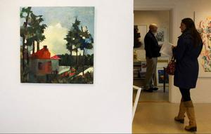 Elisabeth Jansson Sandhamre Trollstugan på Galleri Remi.