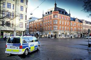 Bevakning. Plaza Hotel var under en tid hårt bevakat av polisen. Arkivfoto: Håkan Risberg