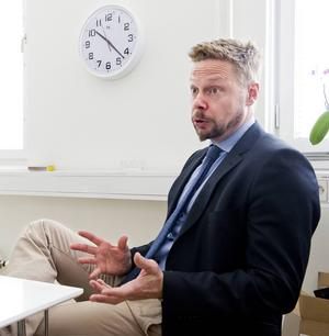 Mats Gidlund är ansvarig för arbetet med att ta emot de ensamkommande flyktingbarnen.