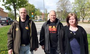 Billy Nilsson, Håkan Eriksson och Ann-Sofie Persson hoppas på att Kris i söderhamn ska komma igång ordentligt.