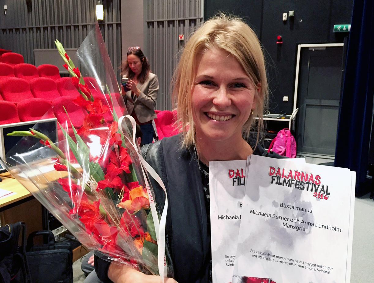 Kvinnliga vinnare pa filmfestivalen