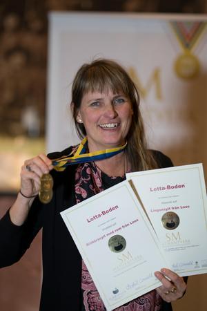 Lotta Persson från Lotta-Boden. Foto: Stéphane Lombard.