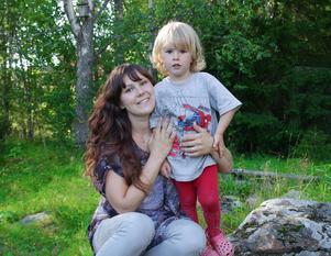 Rebecca Wittesjö deltog i gruppen för unga mammor med sonen Elton för tre år sedan.