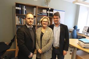 Jörgen Berglund, Lena Asplund och Anders Gäfvert vill inte ha något större samarbete med Västerbotten och Norrbotten än vad redan har i dag.
