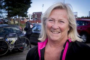 Britt-Marie Nilsson cyklade för elfte året i rad.