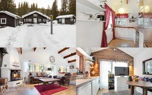 Fritidshus med gäststuga och garage beläget nära Sälfjällstoget och Lindvallen i Sälen.