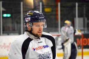 Patrik Elfsberg är lagkapten för Borlänge Hockey.