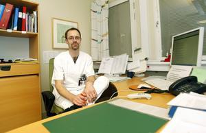 Lars Beckman, verksamhetschef för avdelningen för patologi och cytologi. Arkivbild Fotograf: Therése Ny
