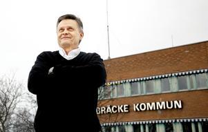 Sven-Åke Draxten (S), kommunstyrelsens ordförande i Bräcke kommun.