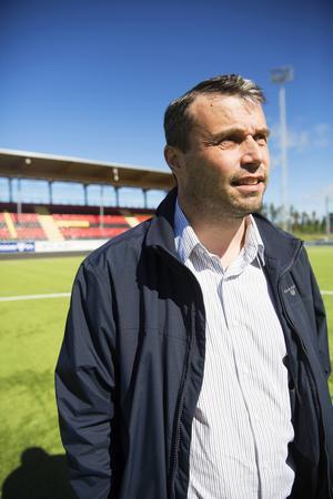 ÖFK:s ordförande Daniel Kindberg.