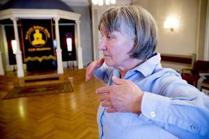 Heide Gustafsson anser sig botad.