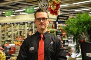 Matbutiken på Kupolen drabbas av fler snatterier kring jul berättar ICA-handlaren Johan Wester.