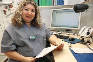 """""""Vården har blivit mer lika för alla. Bara de som verkligen behöver hamnar nu hos jourläkare,"""" säger Mihaela Dumitrascu , allmänläkare."""